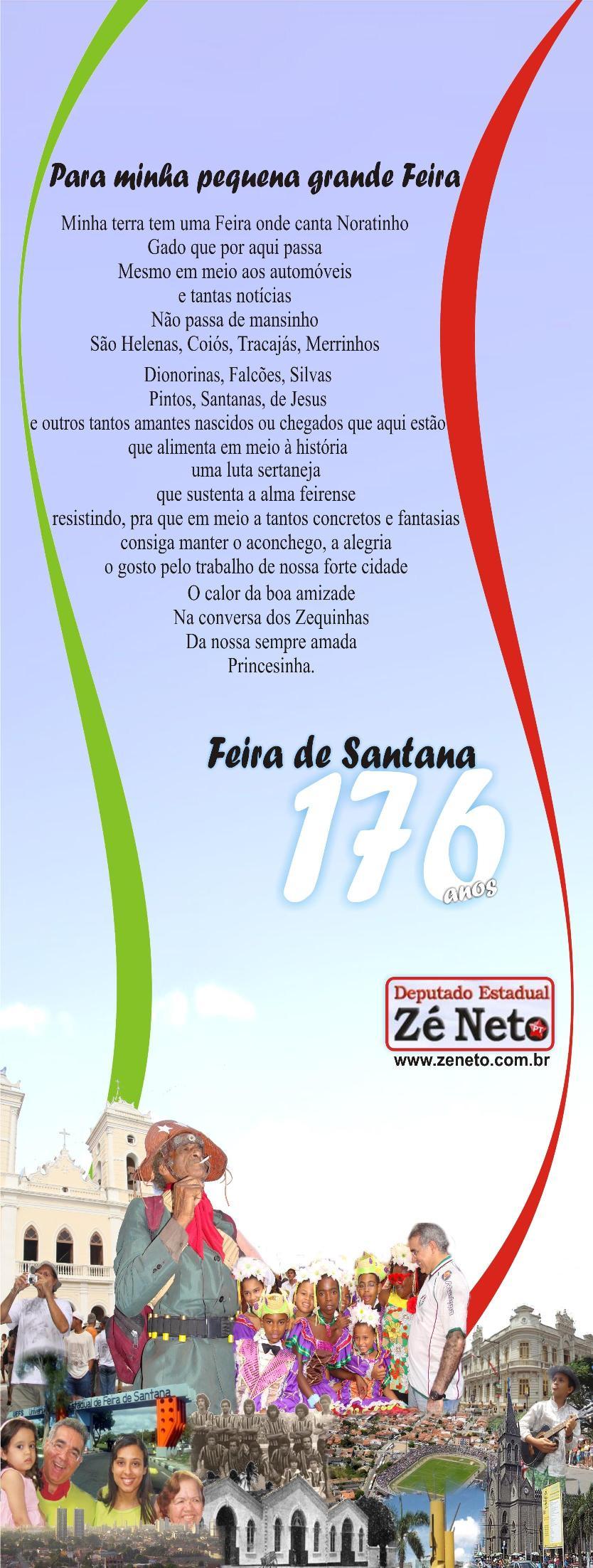 Feira de Santana - 176 anos