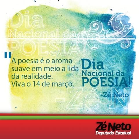 Homenagem ao Dia Nacional da Poesia 2013