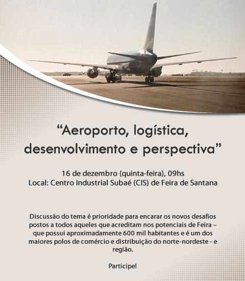 Audiência Pública \'Aeroporto, Logística, Desenvolvimento e Prespectiva\'
