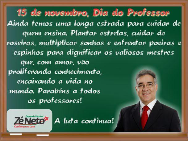 Homenagem ao Dia dos Professores 2011