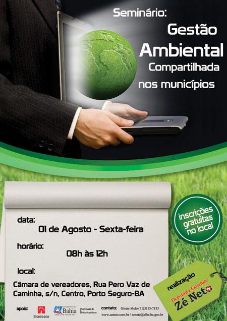 Seminário: Gestão Ambiental Compartilhada (GAC) nos Municípios