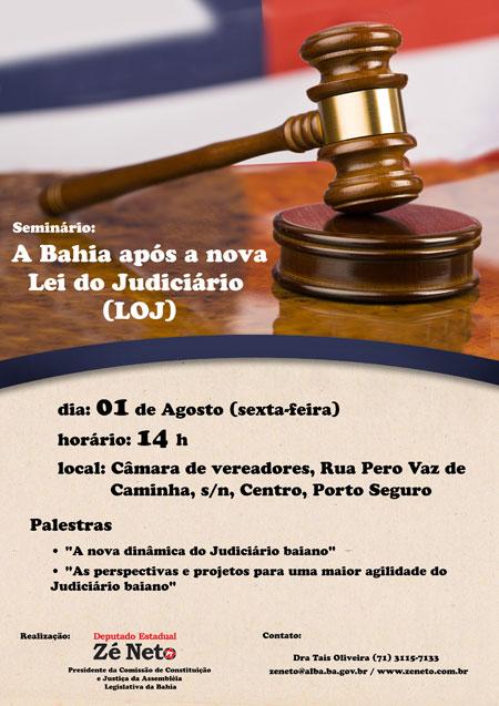 Seminário: A Bahia após a nova Lei de Organização do Judiciário (LOJ)