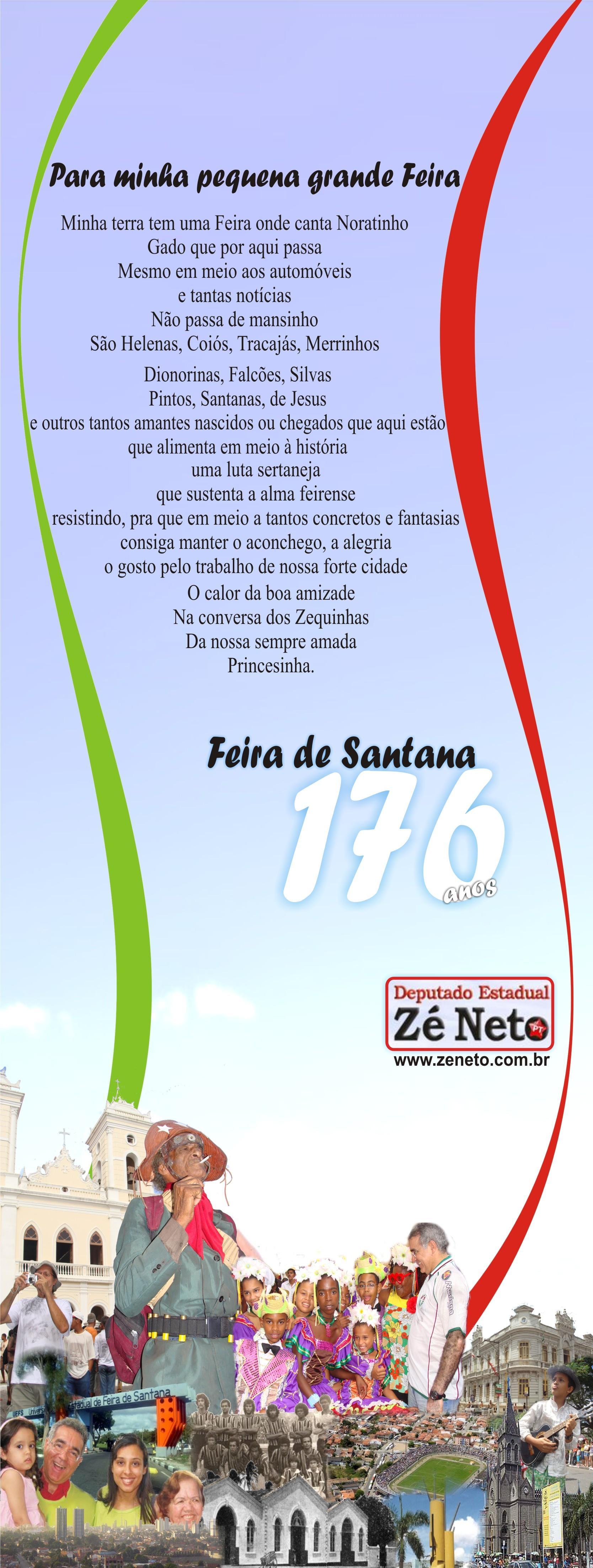 176 anos de Feira de Santana