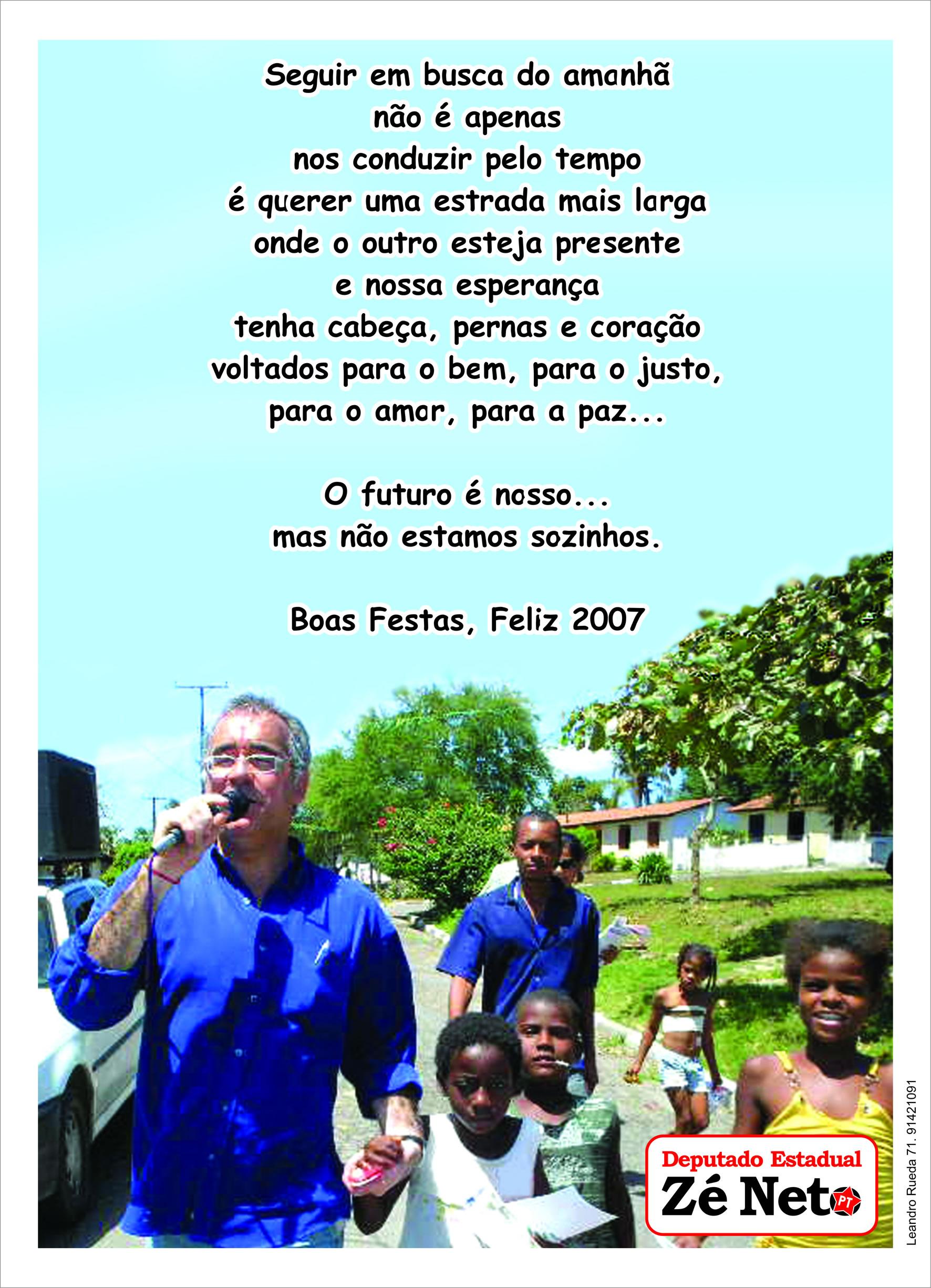 Boas Festas 2007