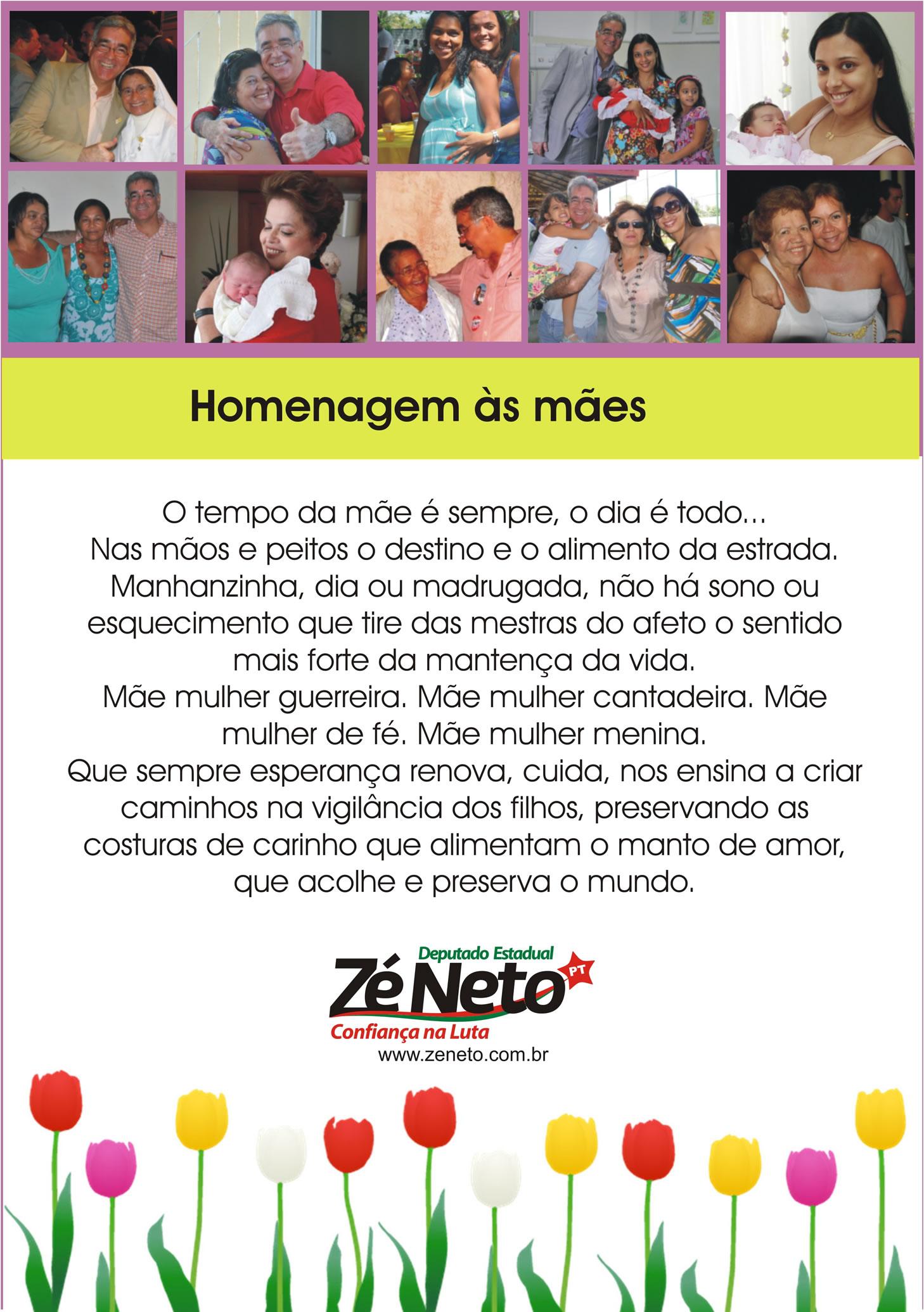 Homenagem ao Dia das Mães 2011
