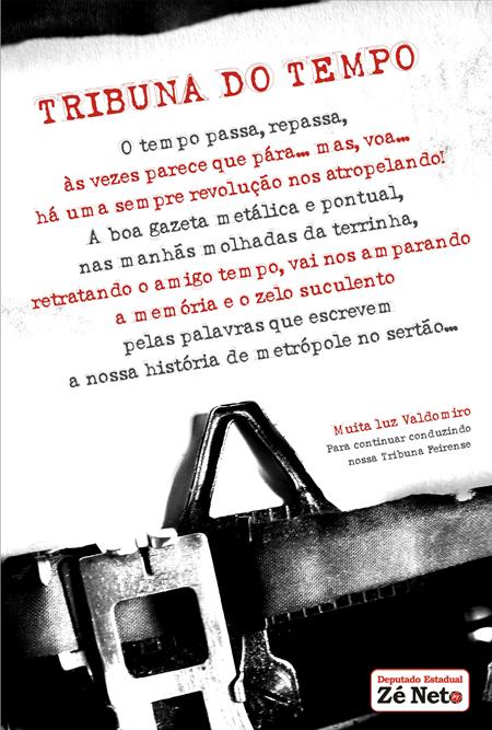 Homenagem ao Jornal Tribuna Feirense
