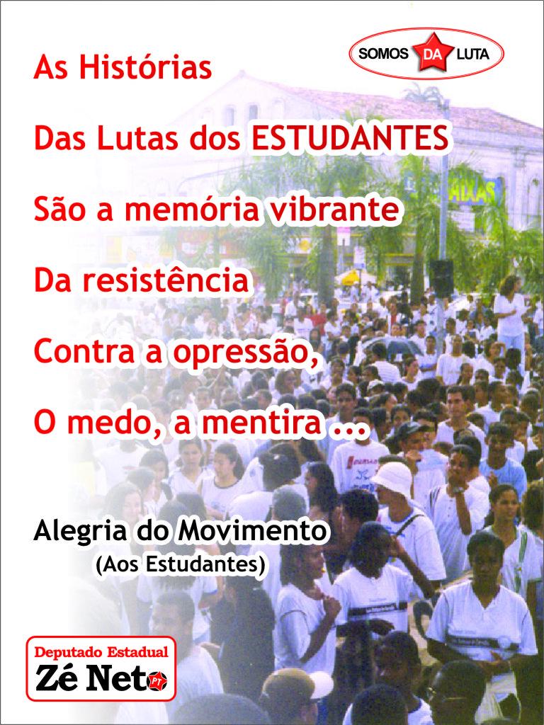 Ao Movimento Estudantil