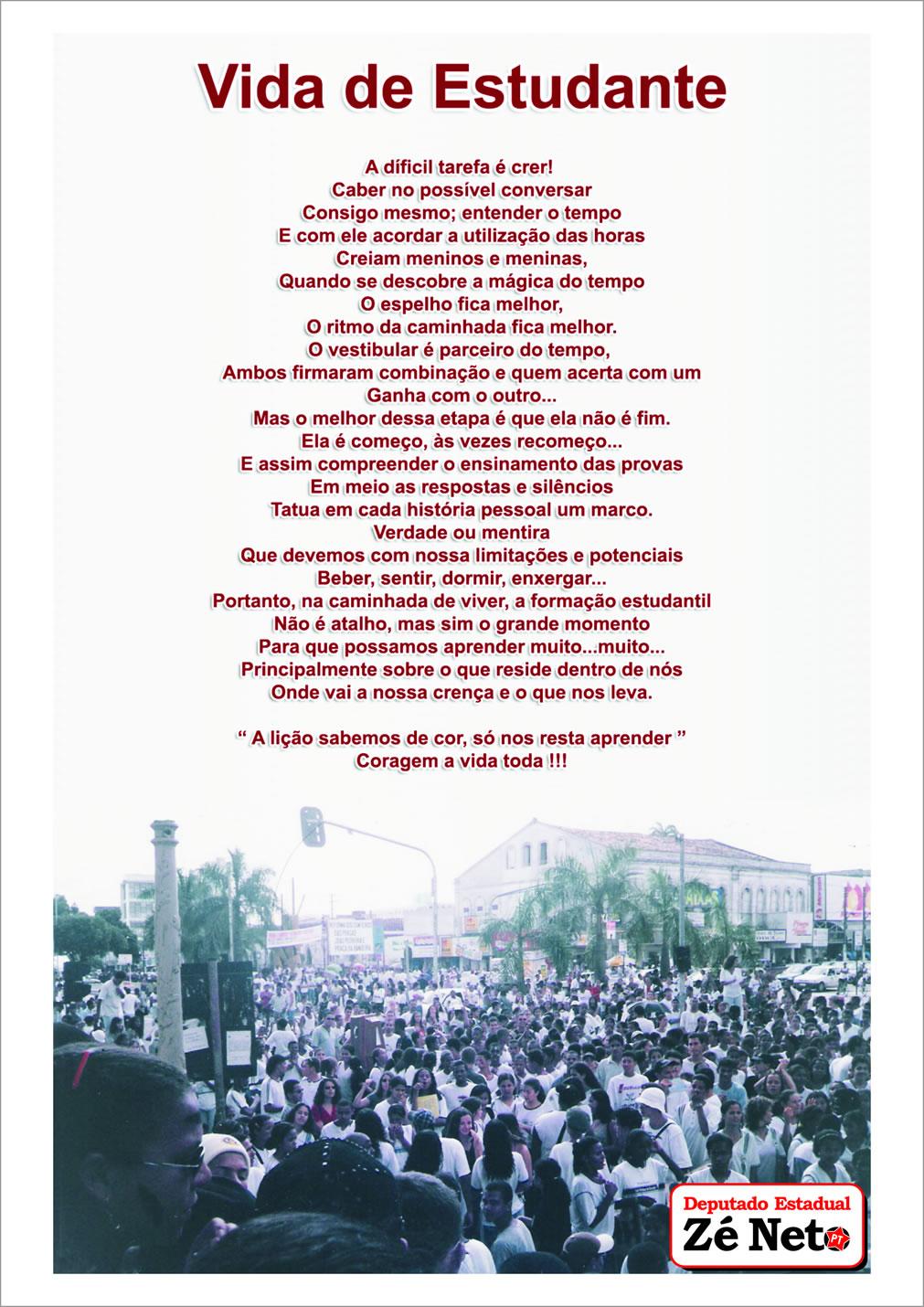 Homenagem aos Estudantes