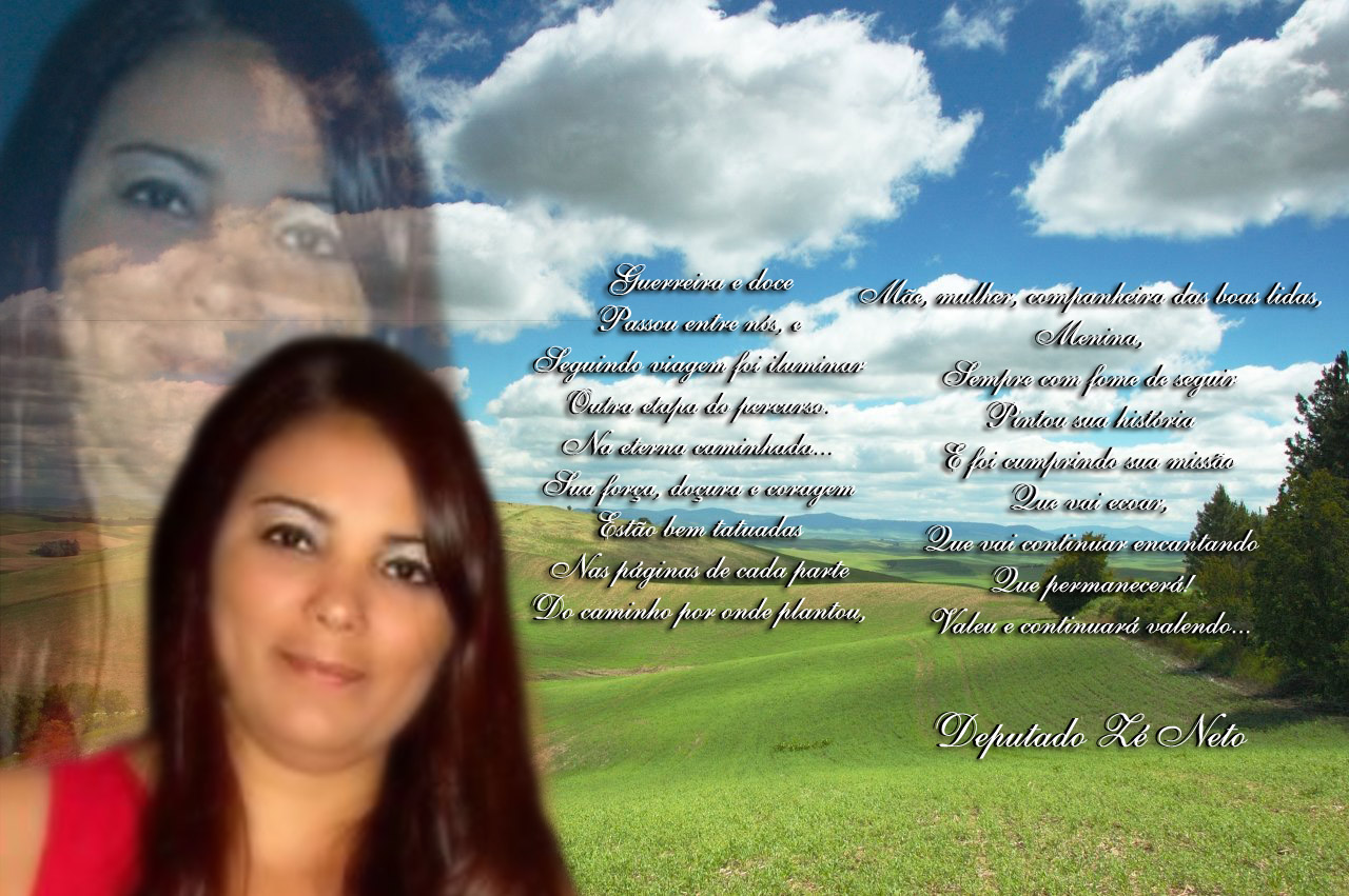 Para Drª Andreza - (Que nos deixou no dia 04.03.11)