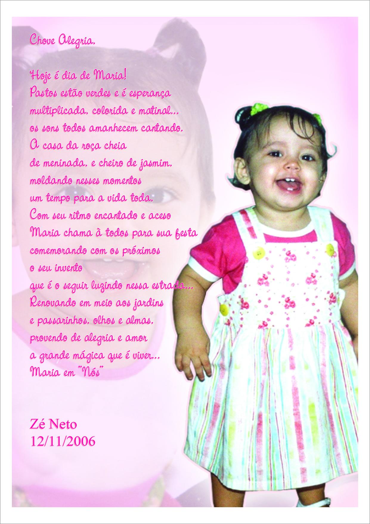 Aniversário de Maria -  2006
