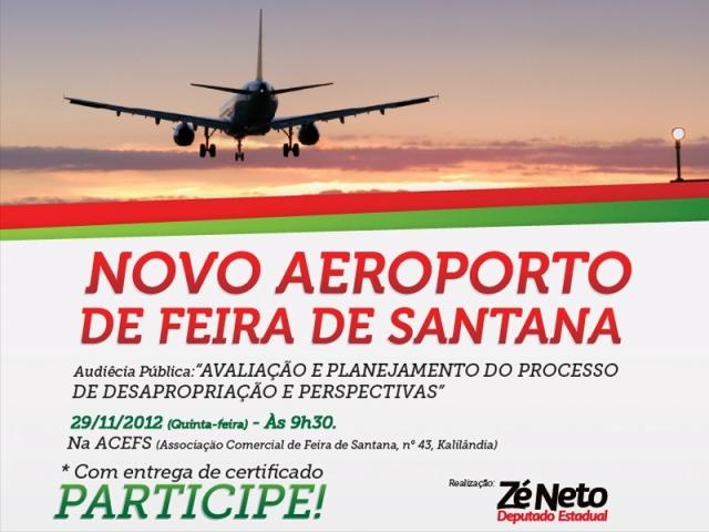 Audiência Pública sobre o Novo Aeroporto de Feira de Santana