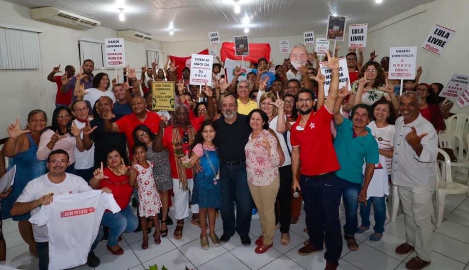 Encontro Estadual Diálogo e Ação Petista, em Feira, com a presença do companheiro Luiz Eduardo Greenhalgh, reúne militância do Partido