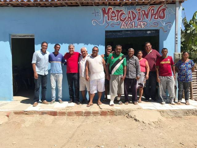 Reunião com a Comunidade de Solevante, em Juazeiro