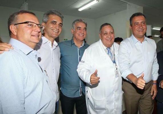 Inauguração da nova emergência do Hospital Clériston Andrade, em Feira