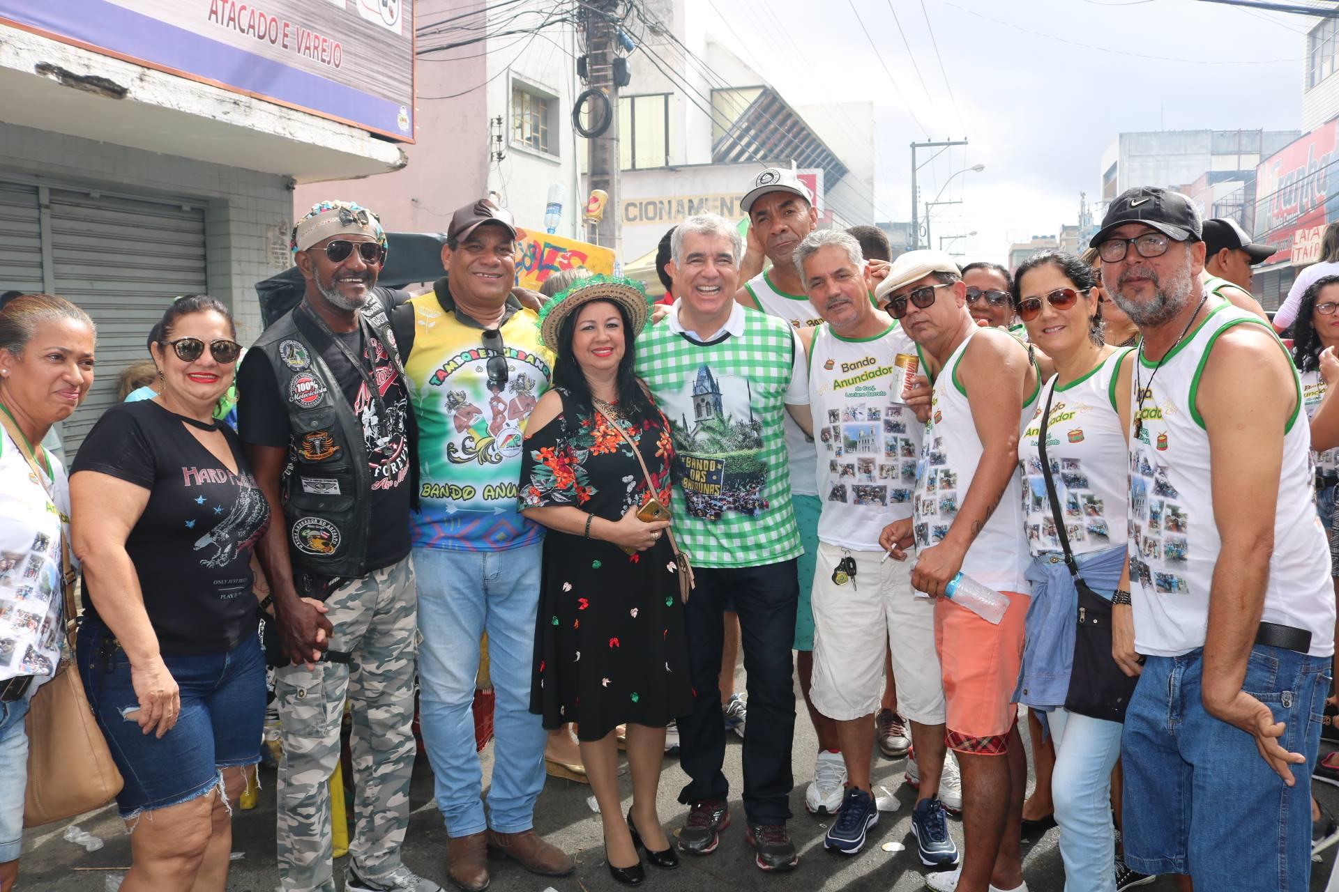 Tradição e cultura tomam conta do Bando Anunciador, em Feira