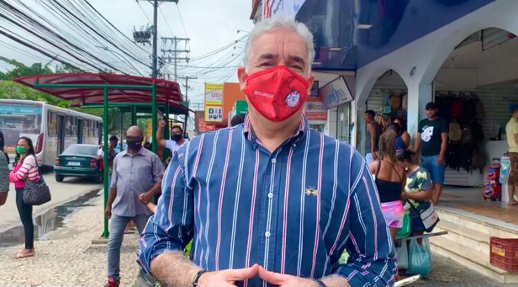 Zé Neto crítica truculência da prefeitura de Feira contra ambulantes e diz que município só usa da força contra os pequenos