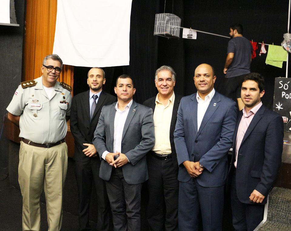 Comemoração dos 36 anos da Fundação do Conjunto Penal, em Feira de Santana