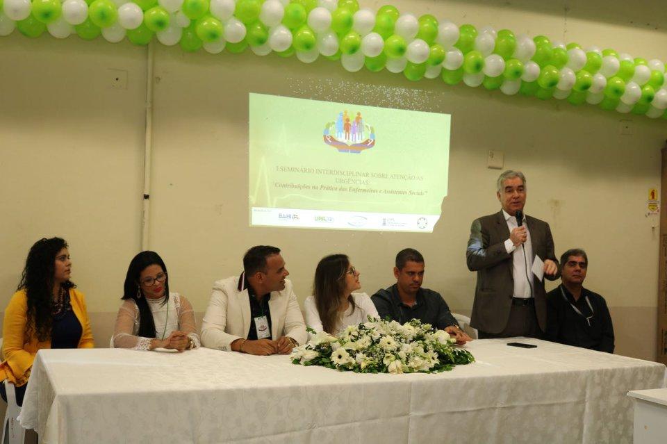 Seminário proposto pela UPA do Clériston Andrade debate atendimento de urgência e emergência, em Feira de Santana
