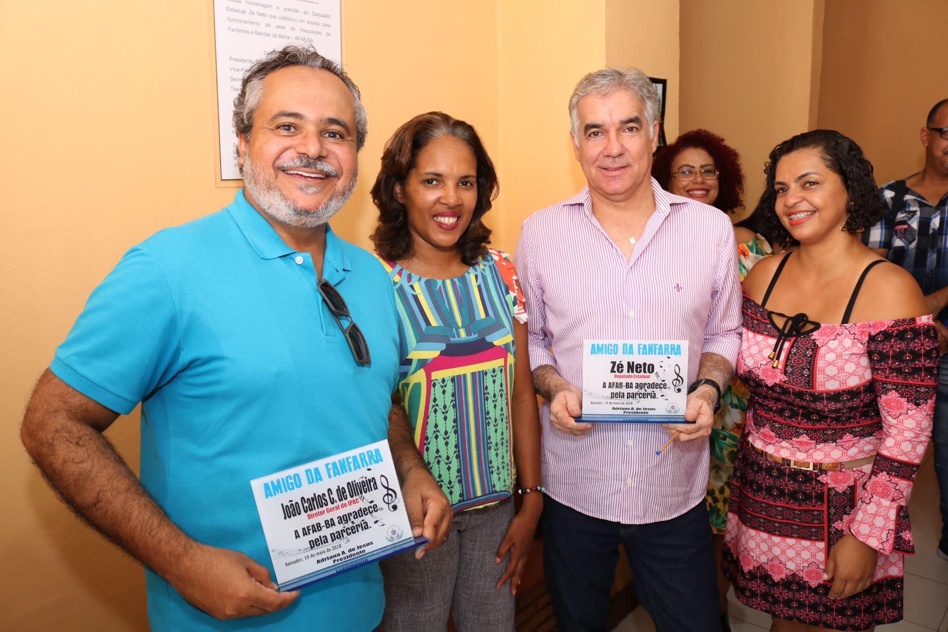 Deputado Zé Neto participa de inauguração da Associação de Fanfarras e Bandas da Bahia (AFAB), em Salvador
