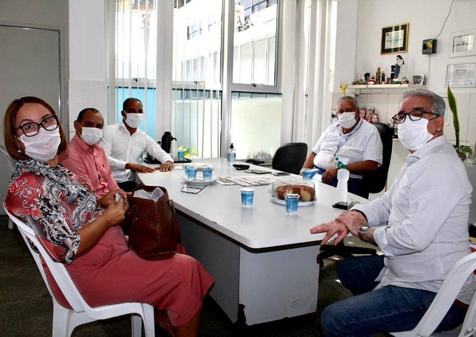 O tema é a ação do Governo do Estado no combate ao Coronavírus em Feira