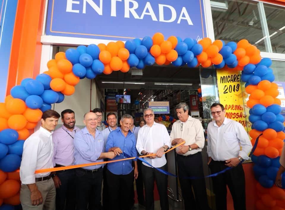 Zé Neto participa, em Feira, da inauguração da 15º loja do Atakadão Atakarejo