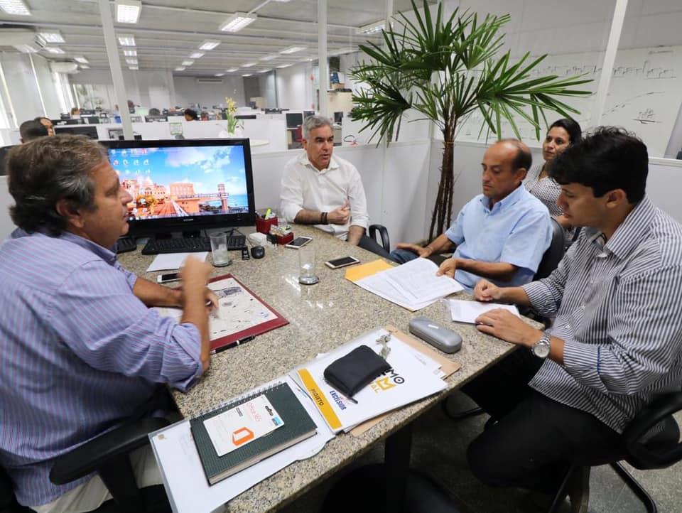 Governo do Estado anuncia apoio para Micareta de Feira, em reunião com Zé Neto, Paulo Vital, Toinho Campos e Tarcisio Branco, em Salvador