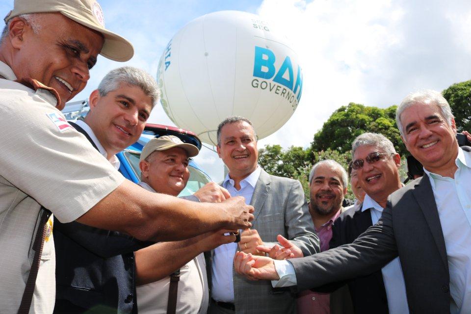 Polícia Militar da Bahia ganha reforço na segurança pública com a entrega de 461 viaturas