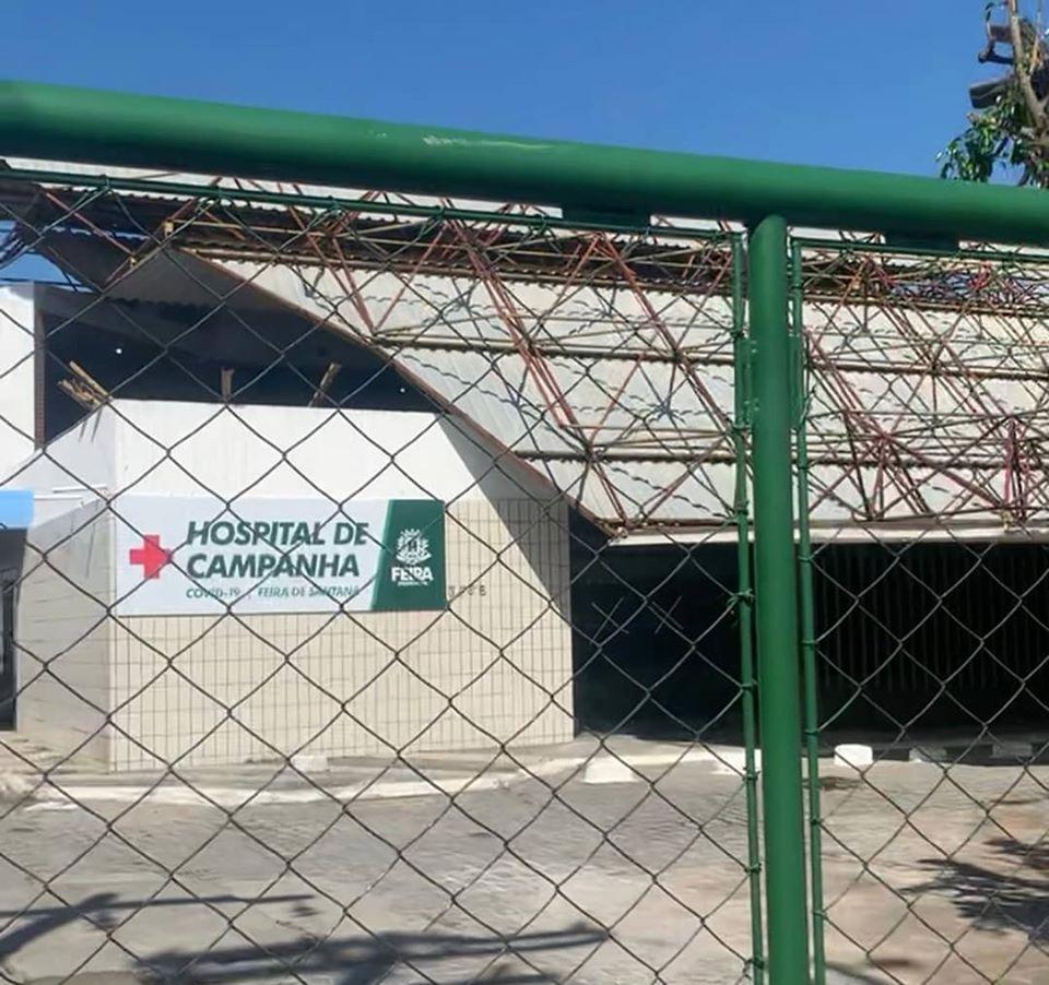 Zé Neto visita Hospital Mater Dei e chama atenção do município sobre atraso das obras