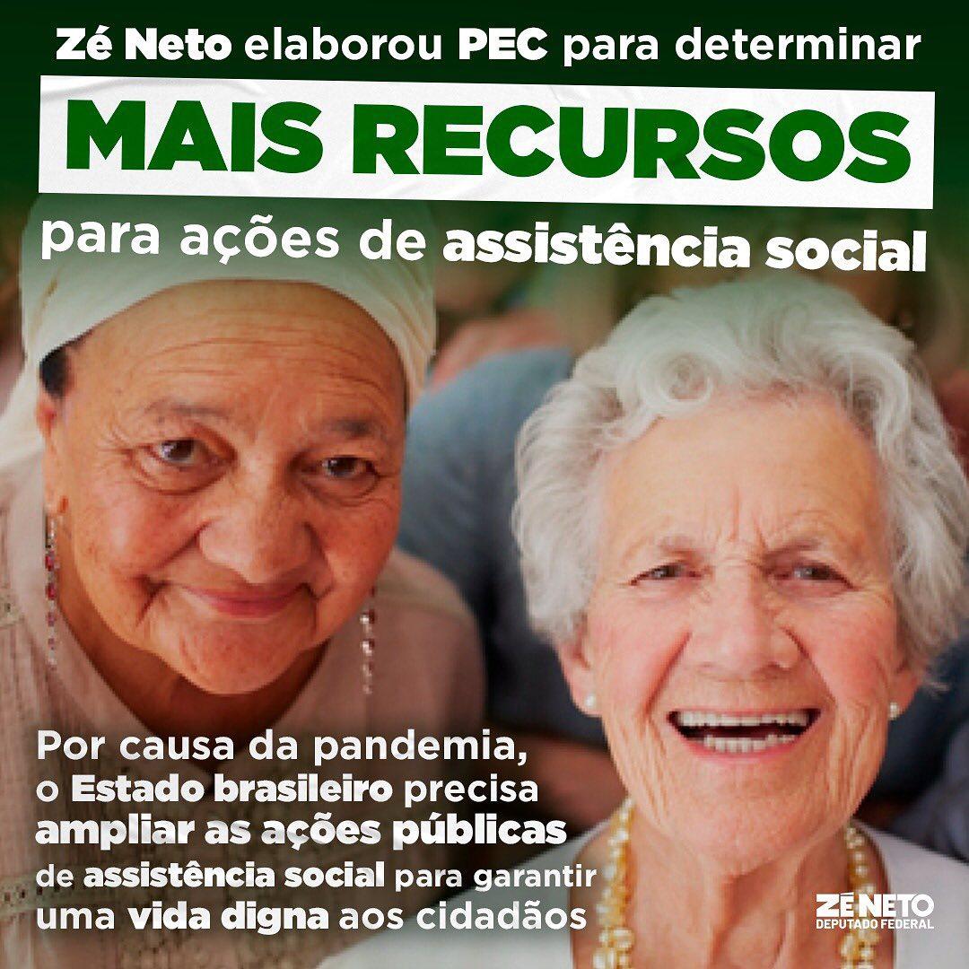 O deputado federal Zé Neto (PT-BA) elaborou uma Proposta de Emenda à Constituição para determinar a aplicação de recursos mínimos nas ações e serviços públicos de assis